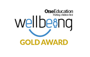 Wellbeing Gold Award Logo